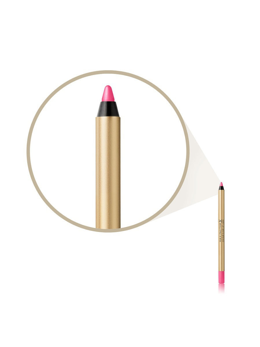 MAX FACTOR Карандаш для губ Colour Elixir Lip Liner 04 тон pink princess