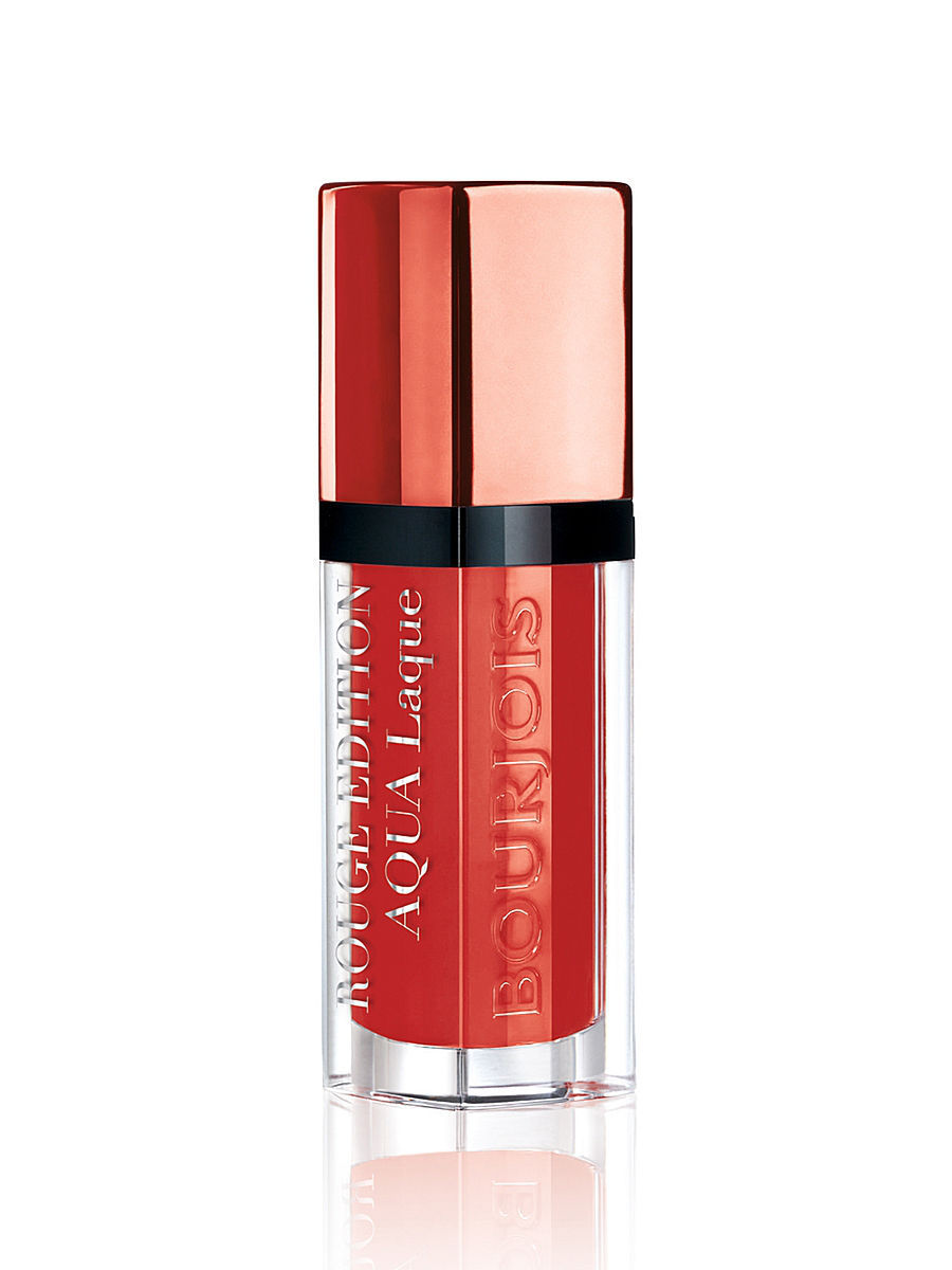 Помада для губ AQUA LAQUE, тон 05 red my lips Bourjois