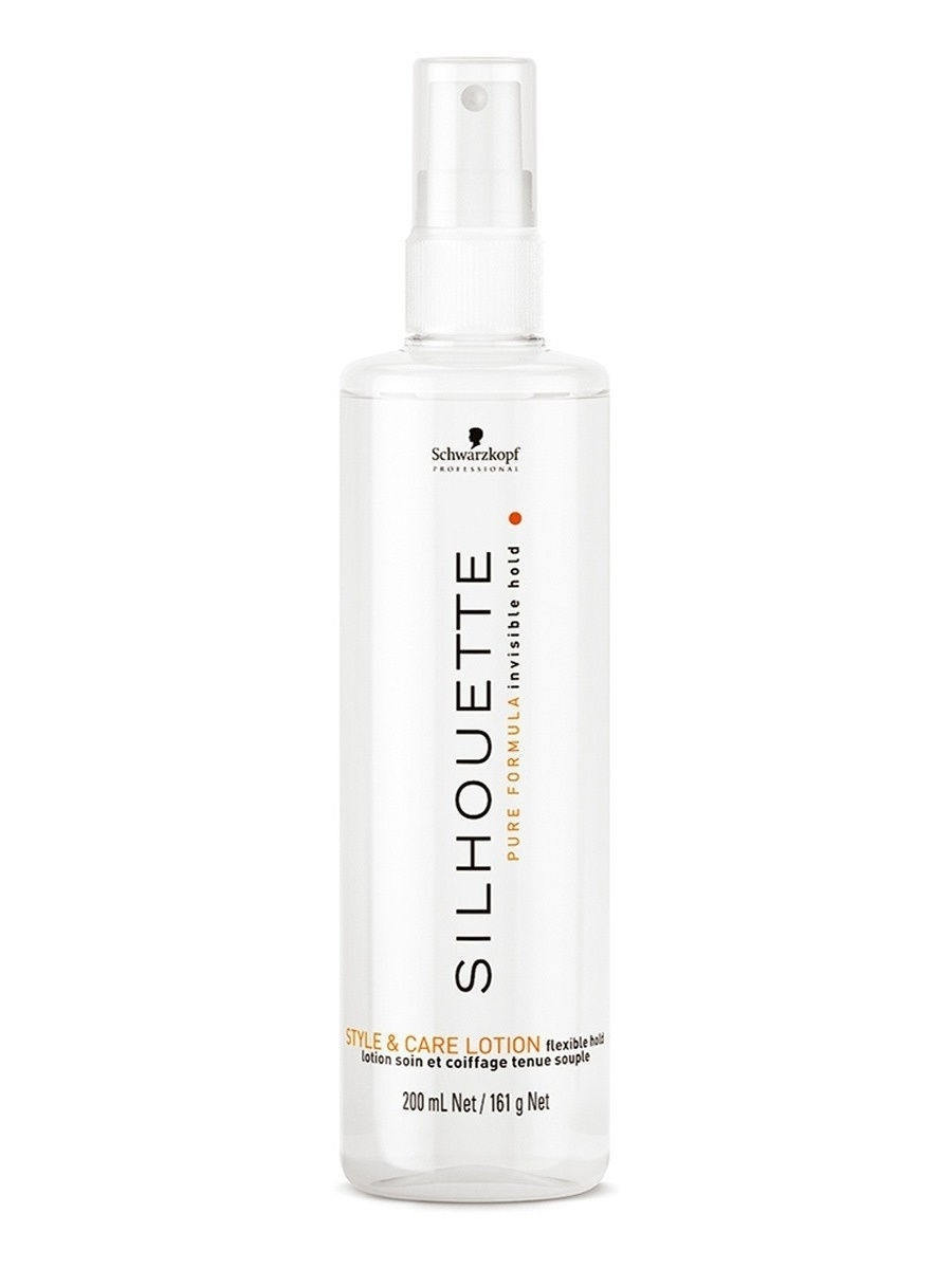 Лосьон Silhouette Pure Flexible Hold Styling  Care Lotion 200 мл Schwarzkopf Professional