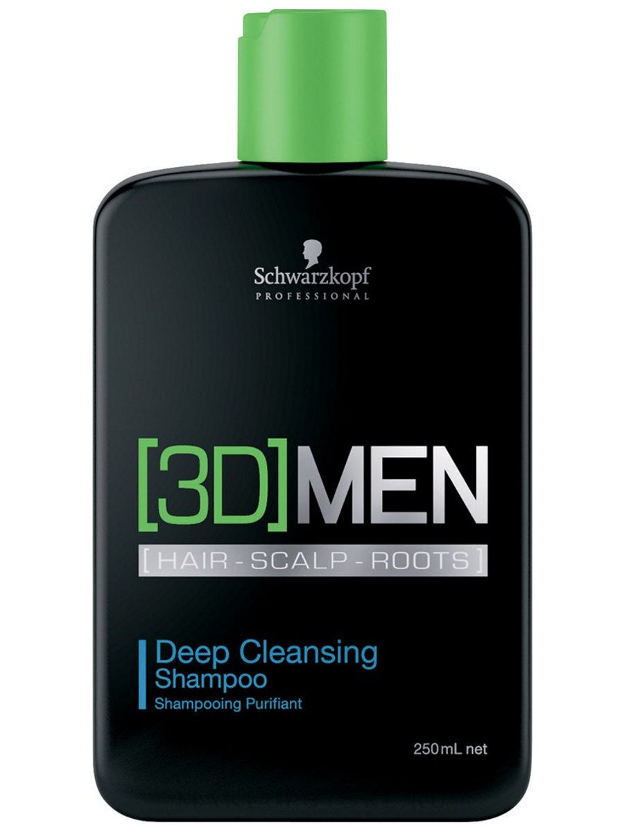Шампунь [3D]MEN Deep Cleansing 250 мл 3DMEN