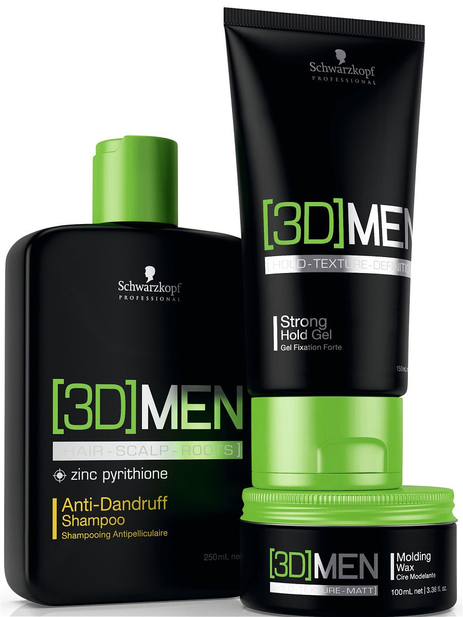 Шампунь [3D]MEN Anti-Dandruff 250 мл 3DMEN