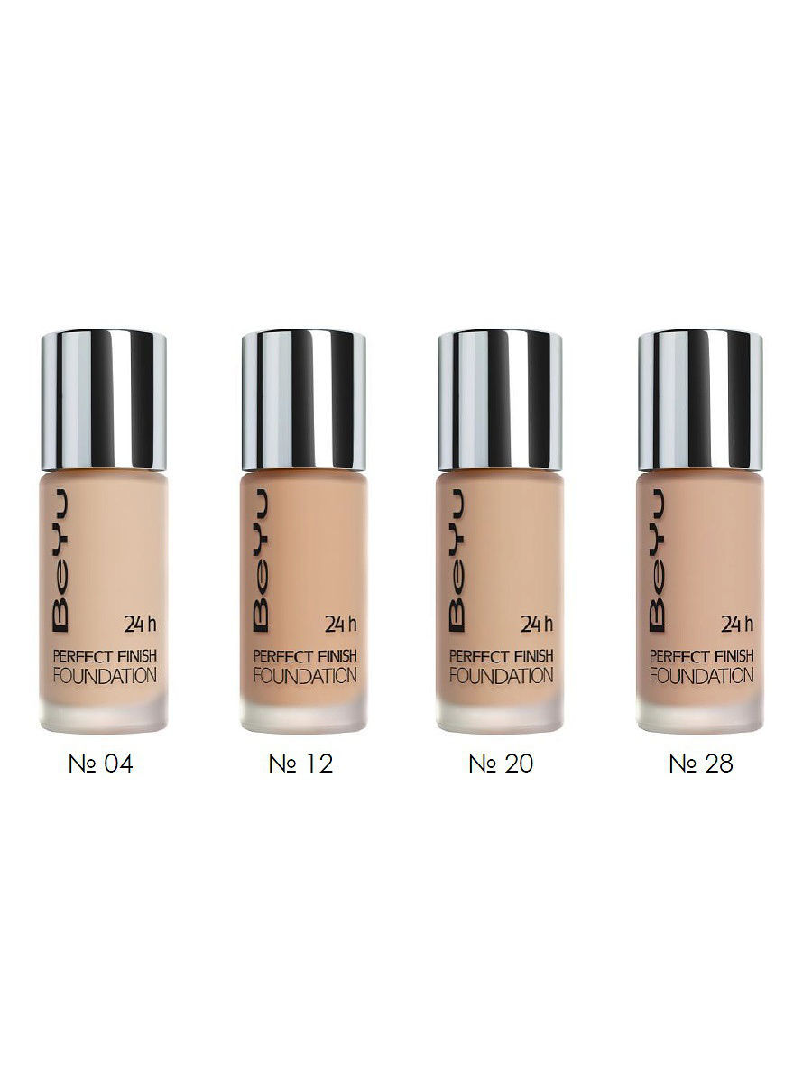 BeYu Тональный крем 24H Perfect Finish Foundation 20 BEYU