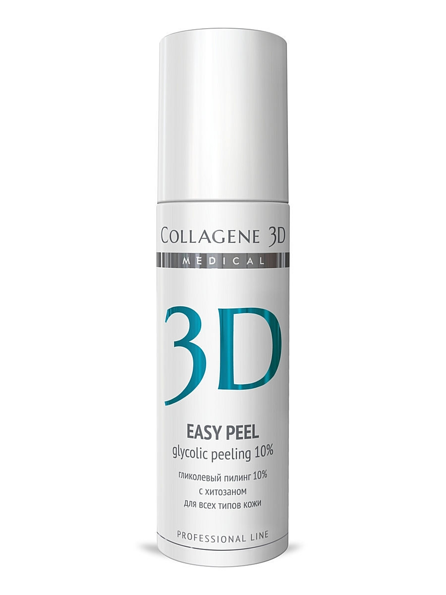 Medical Collagene 3D Гель-пилинг ПРОФ Easy peel 10% 130 мл