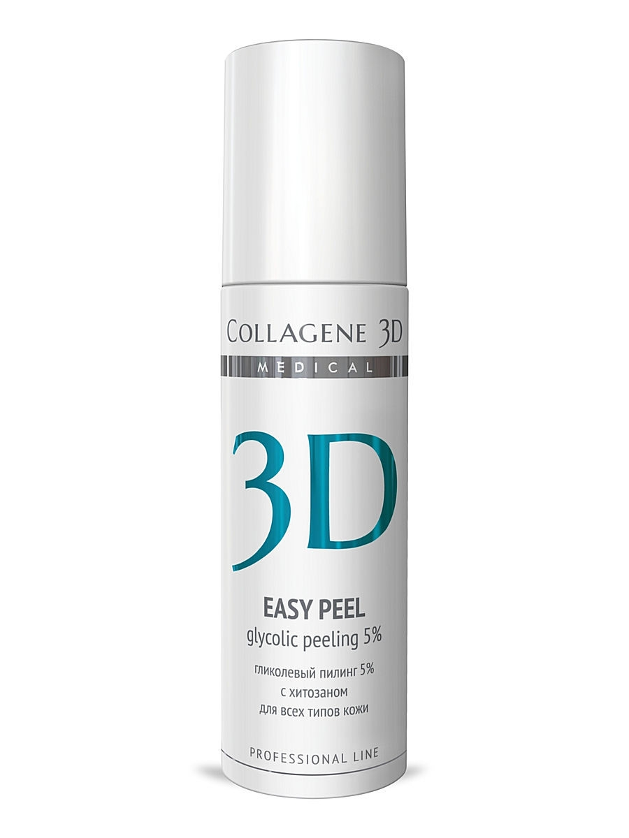 Medical Collagene 3D Гель-пилинг ПРОФ Easy peel 5% 130 мл