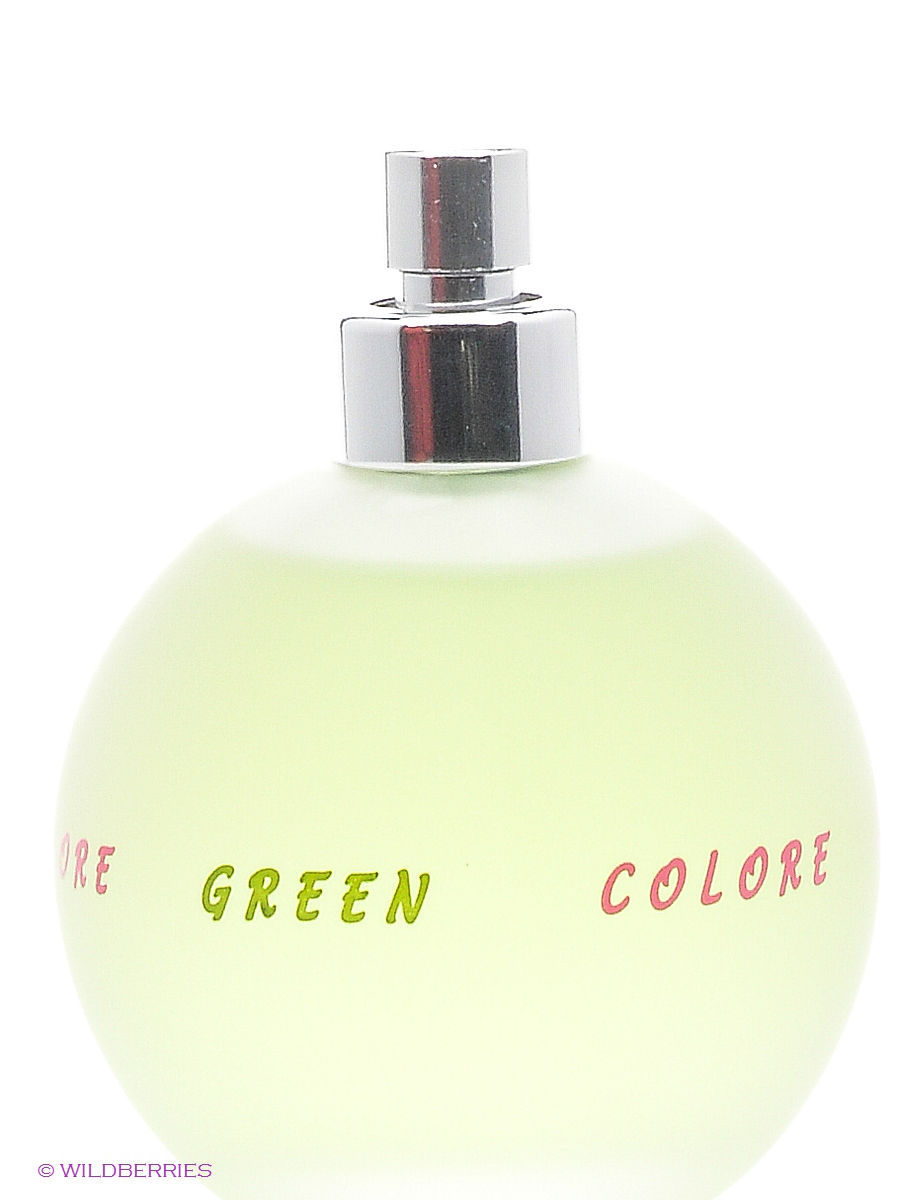 PARFUMS GENTY Туалетная вода COLORE COLORE GREEN 100 мл