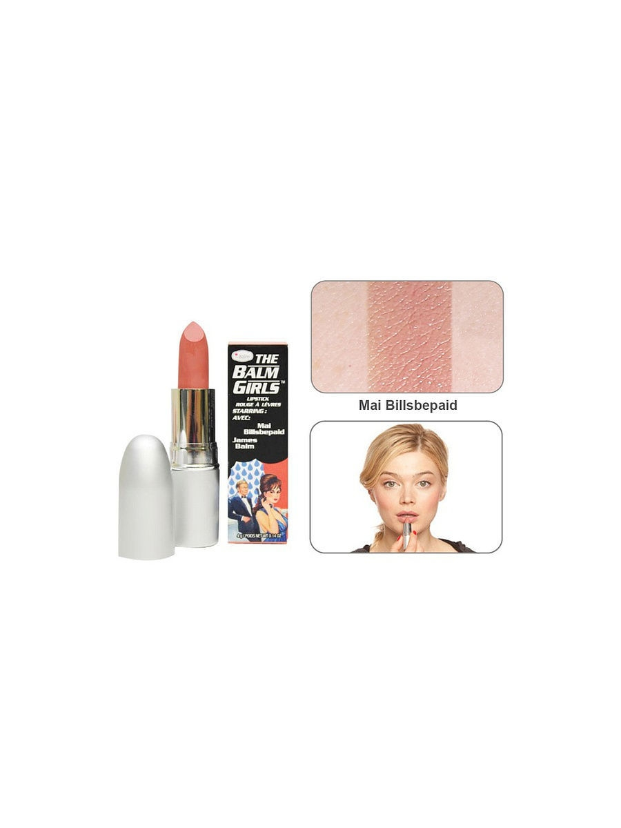 Губная помада theBalm Girls Mai Billsbepaid