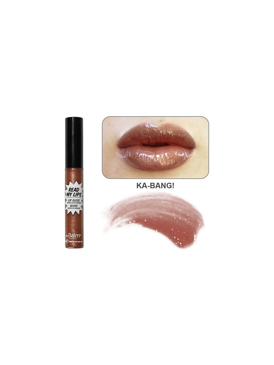 theBalm Блеск для губ Read My Lipgloss KA-BANG!