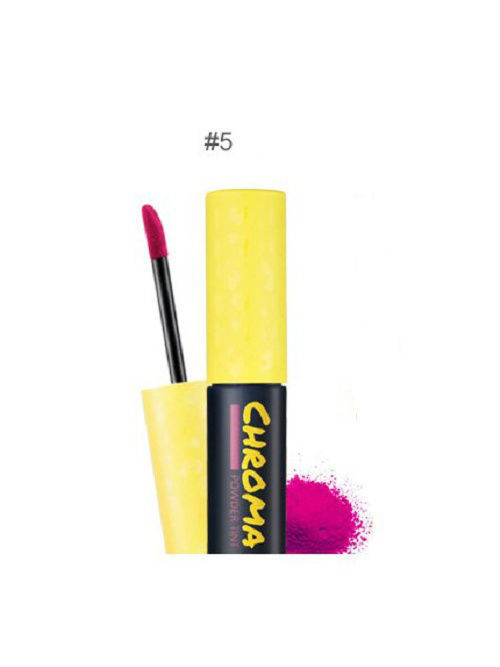 Пудровый тинт для губ Chroma powder№5 Arya(ярко-фиол), 2,5г Touch in sol