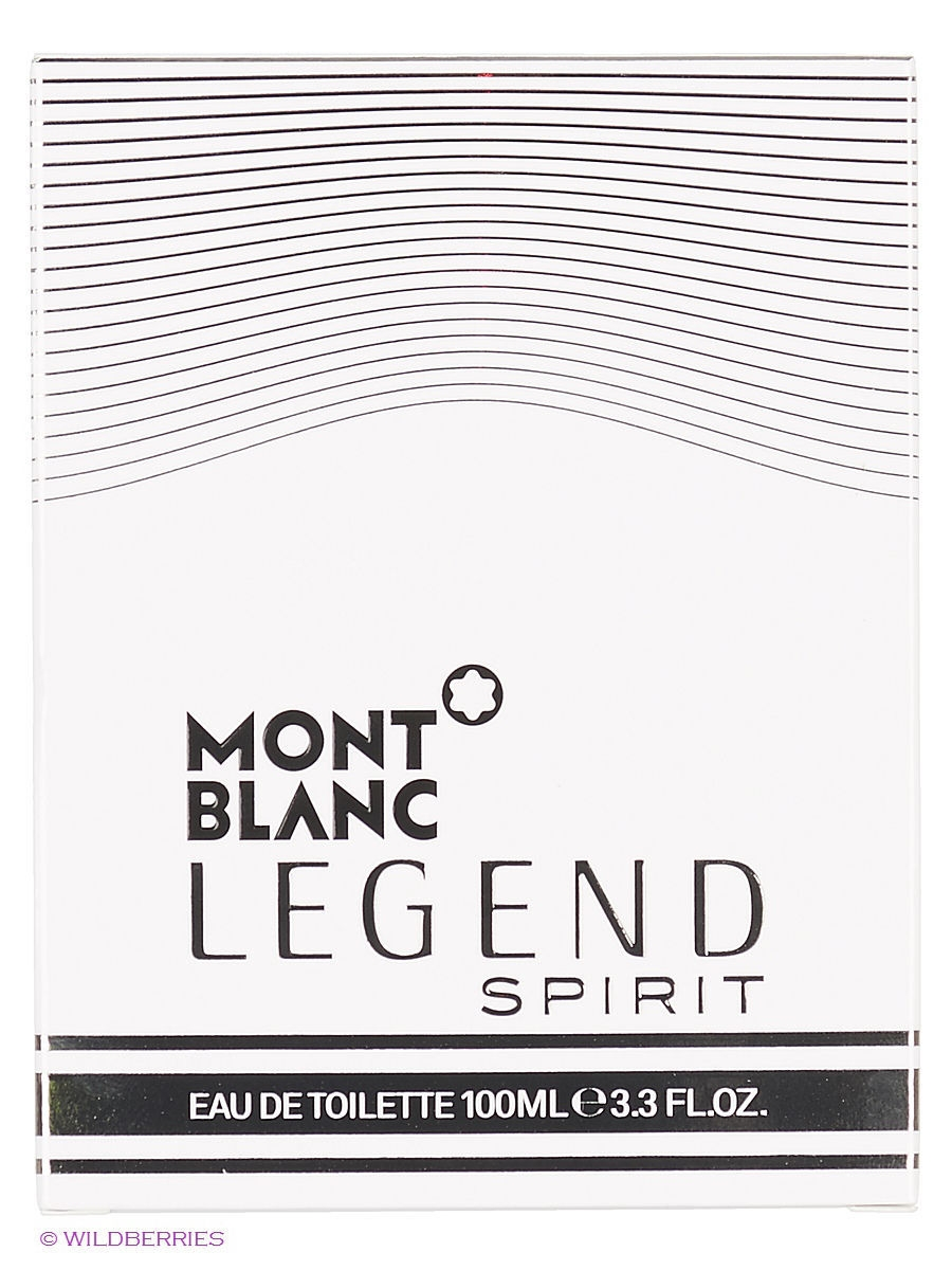 Туалетная вода Montblanc LEGEND SPIRIT FOR MEN EDT SPRAY 100 ML