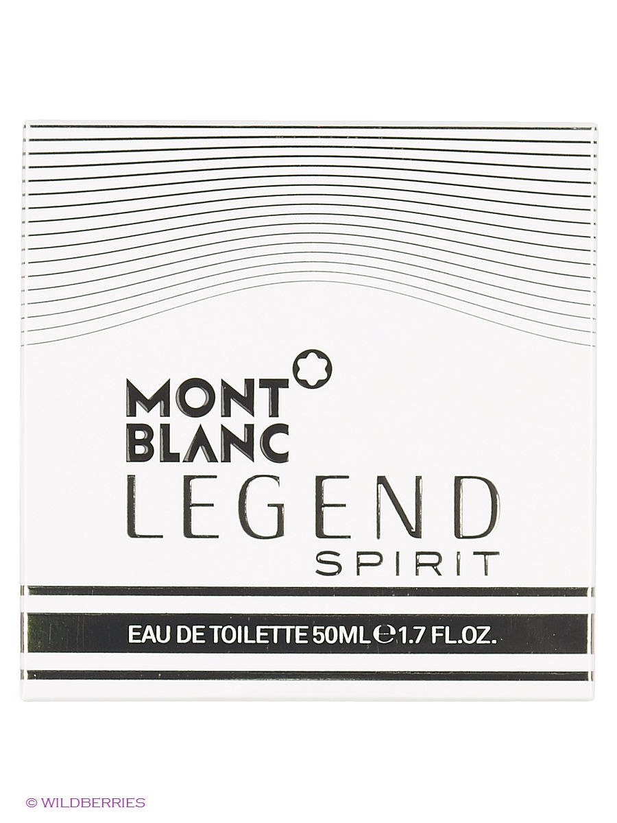 Туалетная вода Montblanc LEGEND SPIRIT FOR MEN EDT SPRAY 50 ML
