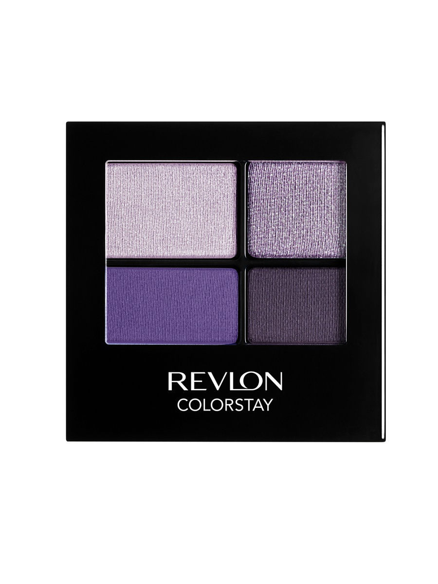 Revlon Тени для век четырехцветные Colorstay Eye16 Hour Eye Shadow Quad, Seductive 530
