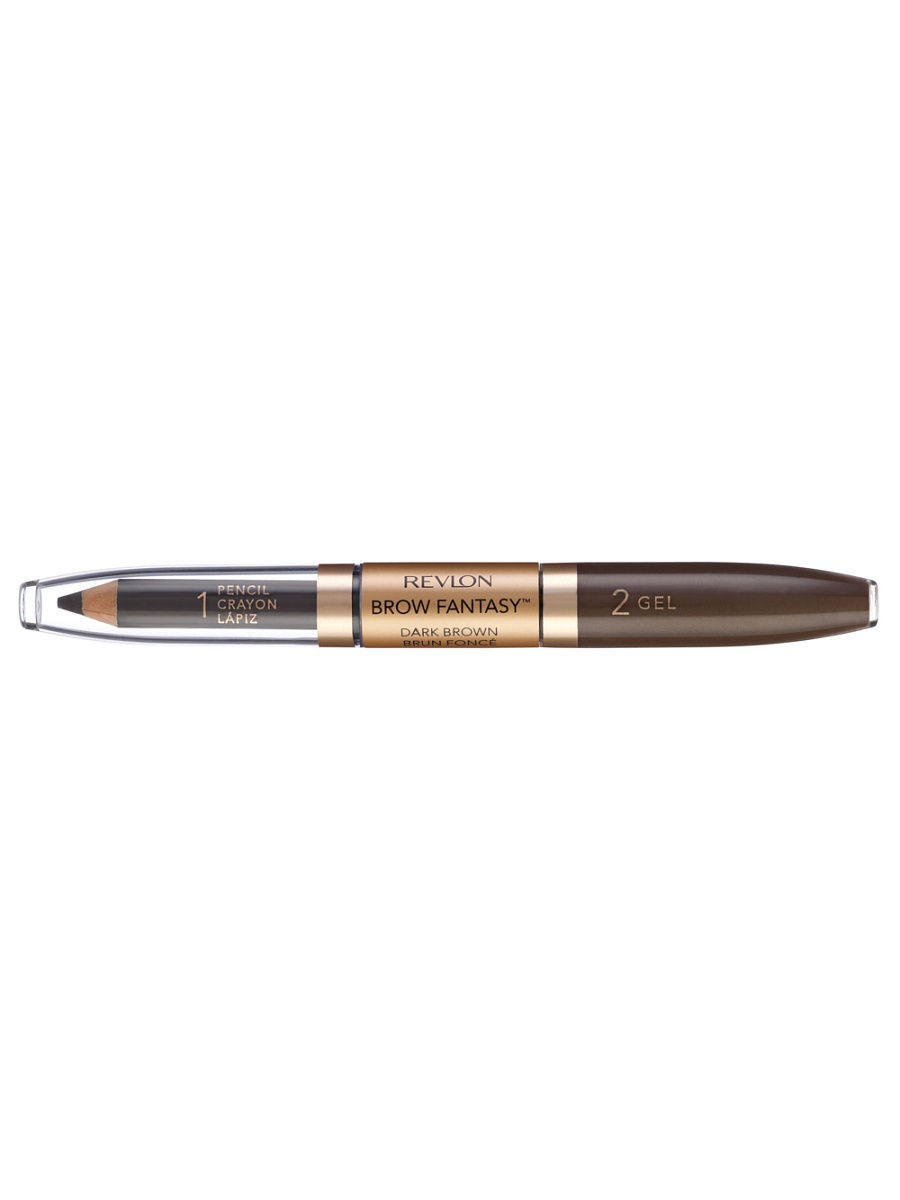 Revlon Карандаш и гель для бровей Colorstay Brow Fantasy Pencil , Dark brown 106