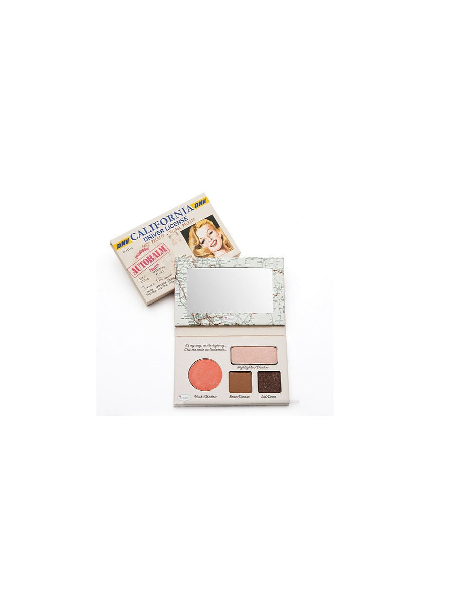 theBalm Палетка теней AutoBalm- California