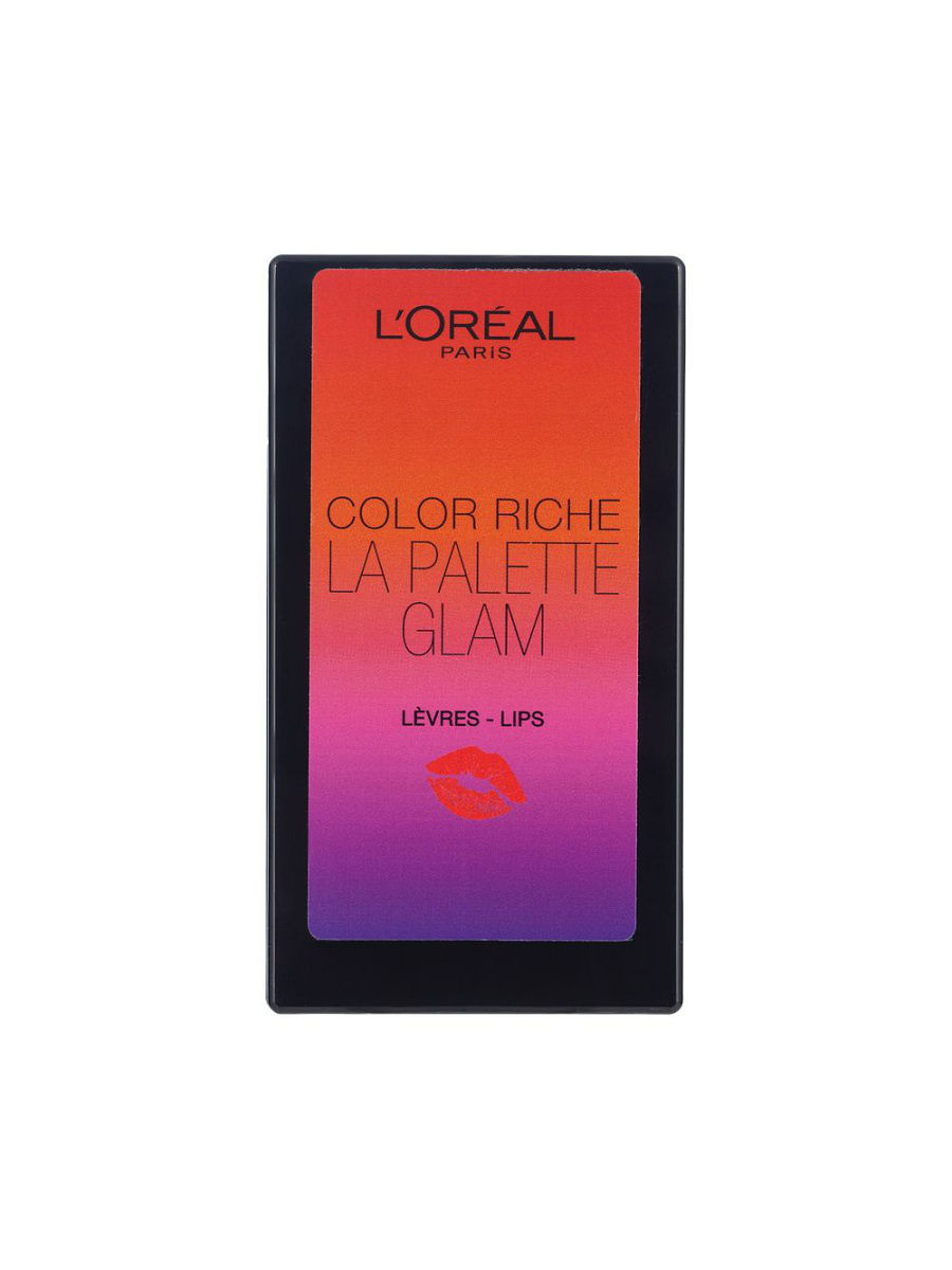 Палитра помад Color Riche Glam summer 2016, 74г LOreal Paris