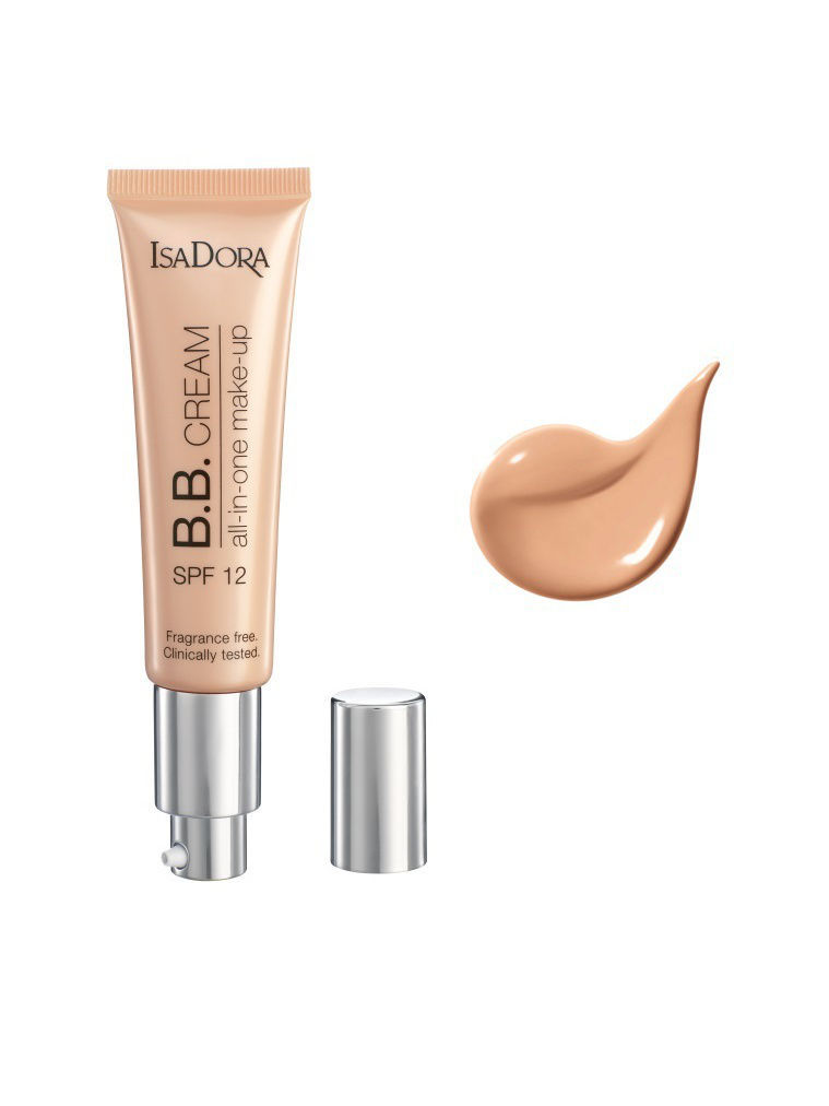 ISADORA Вb-крем BB Cream All-in-One make-up spf 12 12 35мл