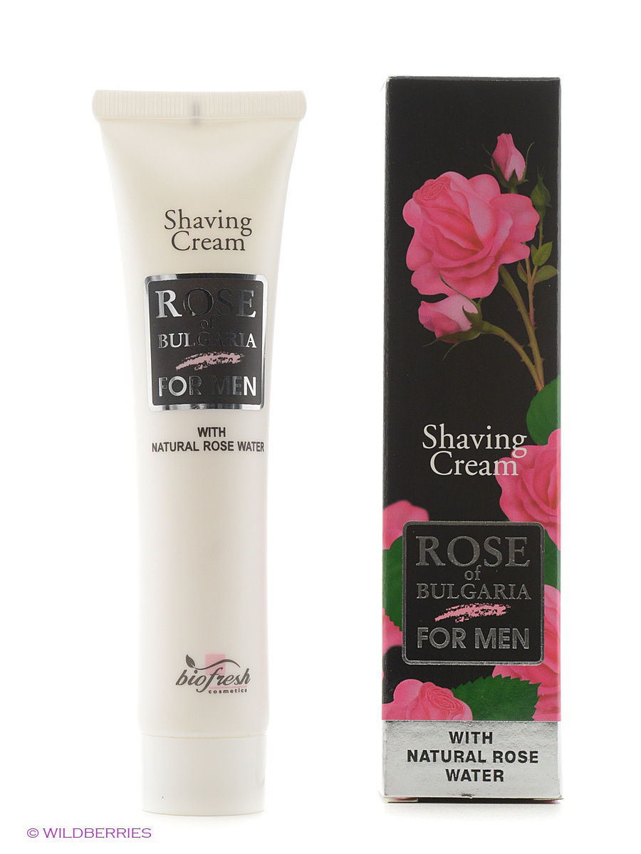 Biofresh Крем для бритья Rose of Bulgaria for men