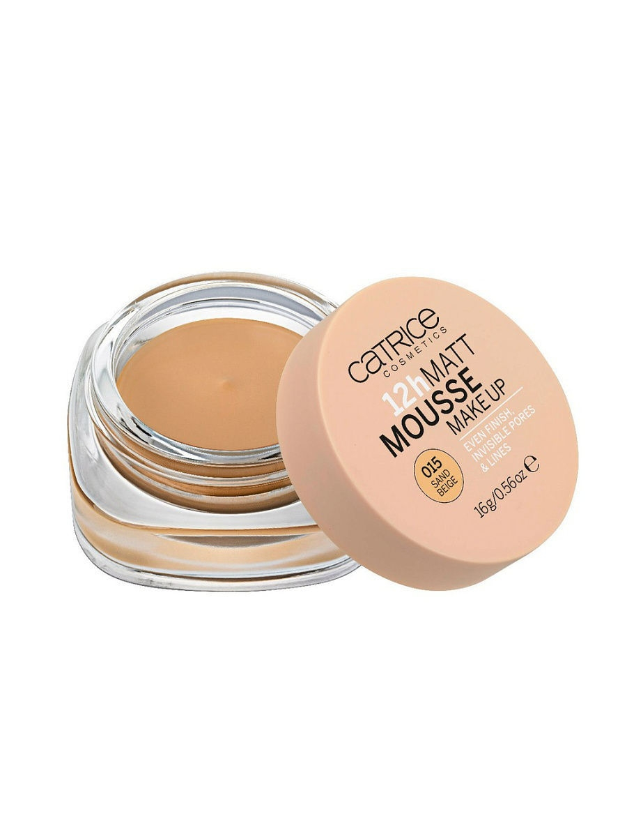 Мусс матирующий 12h Matt Mousse Make up 015 Sand Beige Catrice