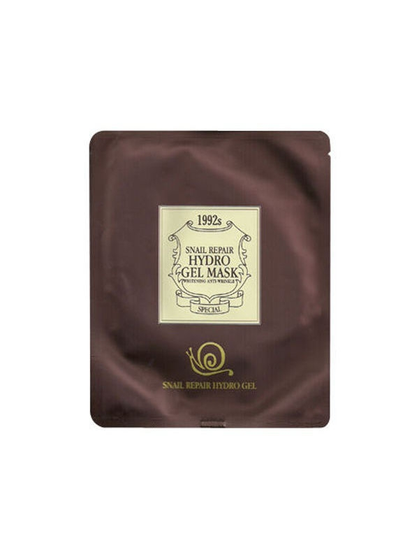 Chamos Snail Repair Hydro Gel Mask. Восстанавливающая гидрогелевая маска с улиточным муцином