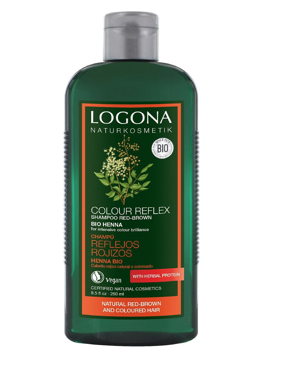 Color Care Шампунь с Хной Logona