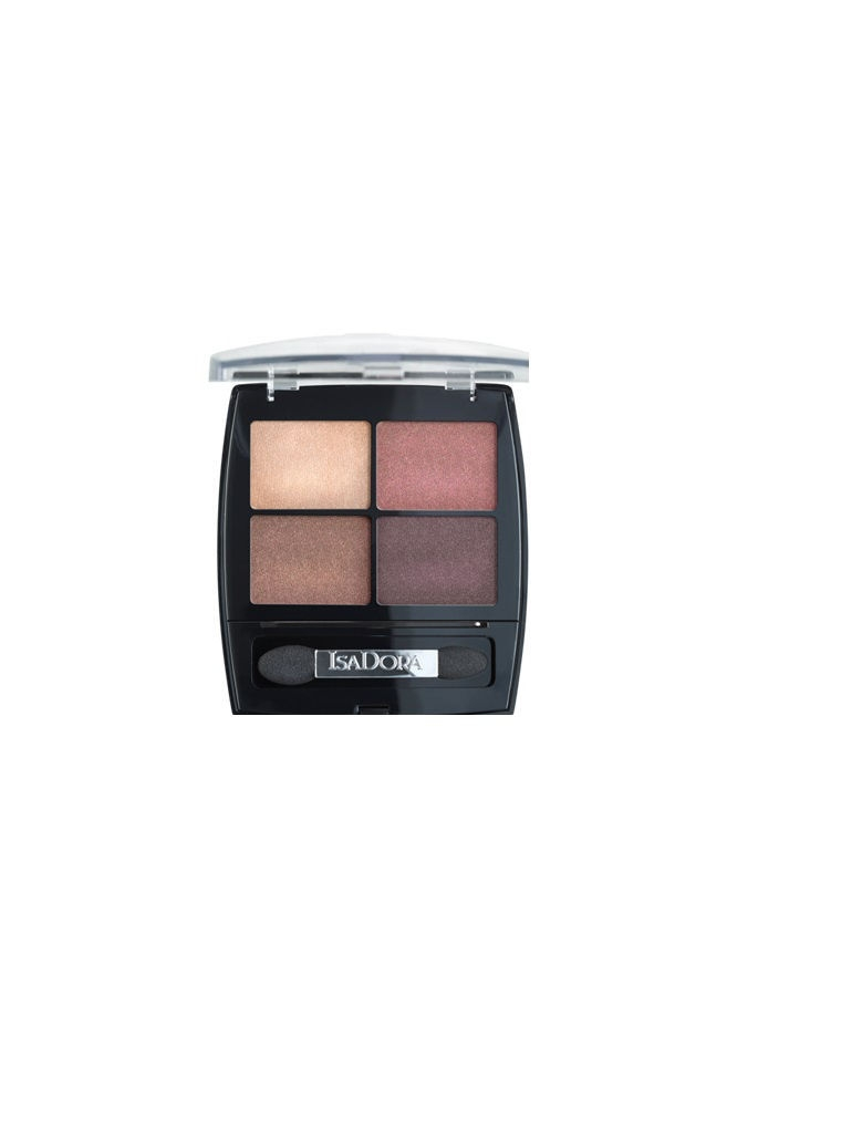 Тени для век Eye shadow quartet 11, 5 гр ISADORA