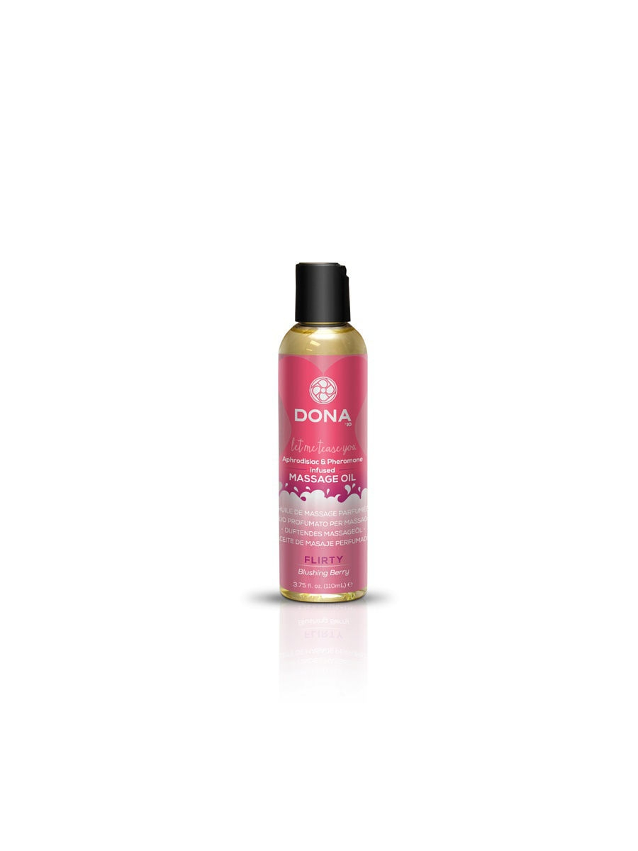 SYSTEM JO Массажное масло DONA Scented Massage Oil Flirty Aroma: Blushing Berry