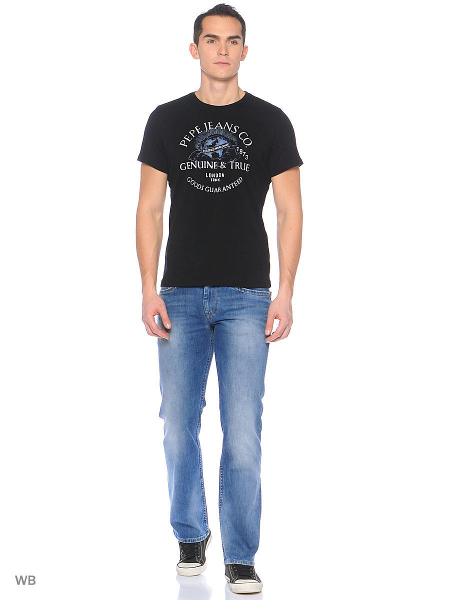 Футболка Pepe Jeans London PM503538/999BLACK