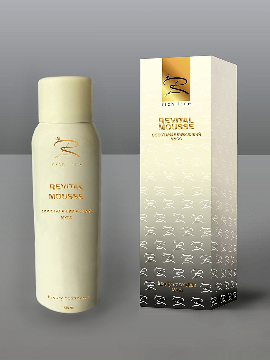 Rich Line REVITAL MOUSSE Восстанавливающий мусс 130 мл. RICH LINE