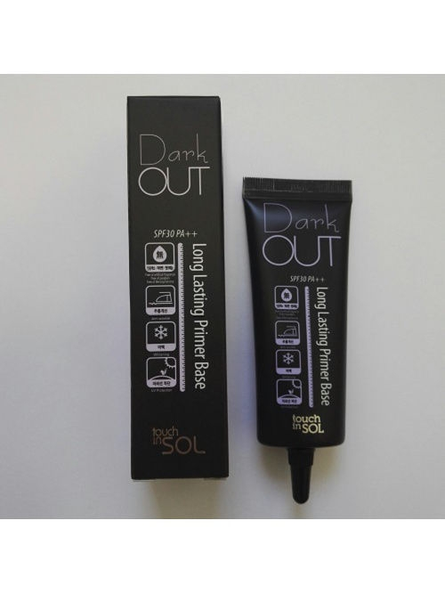 Touch in sol Основа под макияж осветляющая DARK LONG LASTING SPF PA30++, 25мл