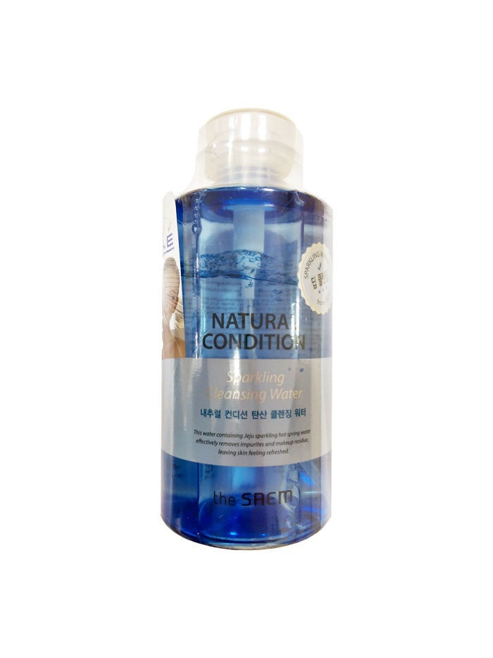 The SAEM Мицеллярная вода Natural Condition Sparkling Cleansing Water, 500мл
