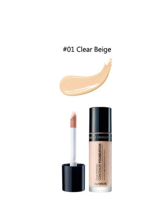 The SAEM Консилер 01 Cover Perfection Concealer Foundation 01, 38г the SAEM