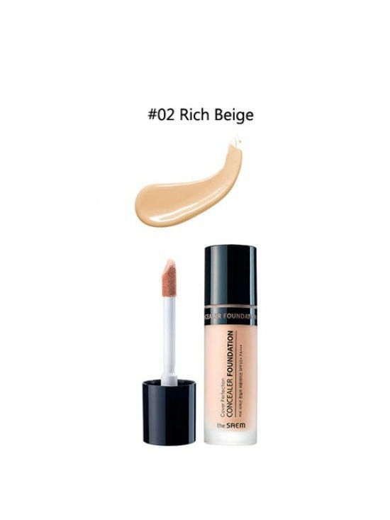 The SAEM Консилер Cover Perfection Concealer Foundation 02, 38г the SAEM