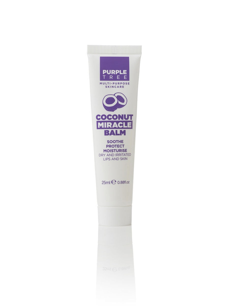 Бальзам для губ с маслом кокоса Purple Tree Miracle Balm Coconut