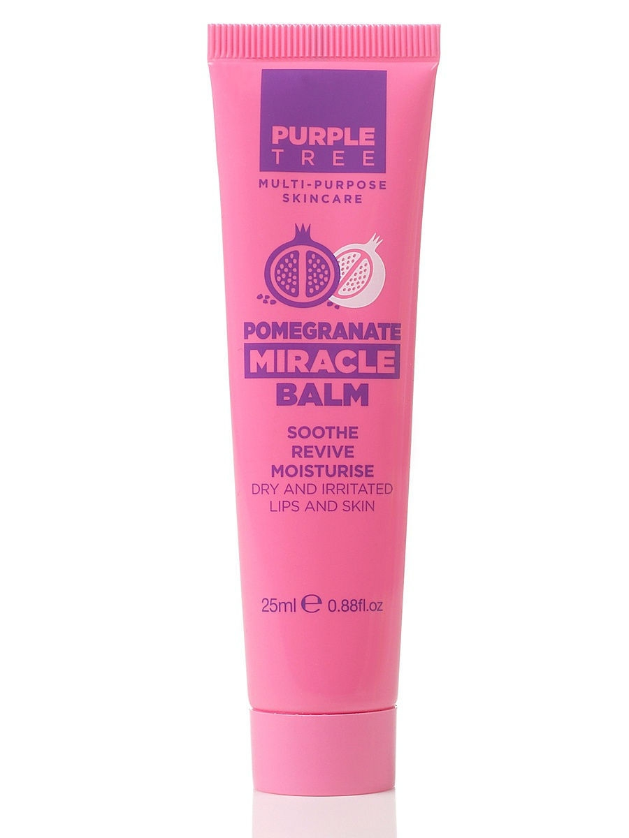 Бальзам для губ с экстрактом граната Purple Tree Miracle Balm Pomegranate