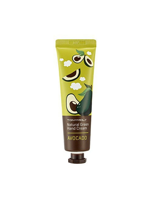 Tony Moly Крем для рук NATURAL GREEN (авокадо), 30мл
