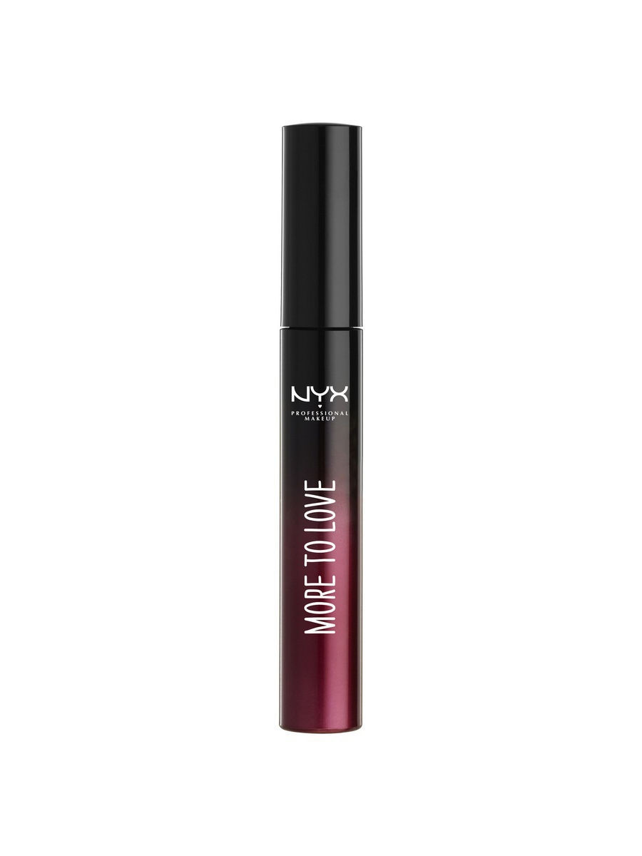 NYX PROFESSIONAL MAKEUP Ухаживающая тушь для ресниц. LUSH LASHES MASCARA - MORE TO LOVE
