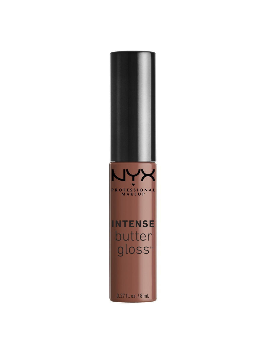 NYX PROFESSIONAL MAKEUP Увлажняющий блеск для губ. INTENSE BUTTER GLOSS - CHOCOLATE CREPE