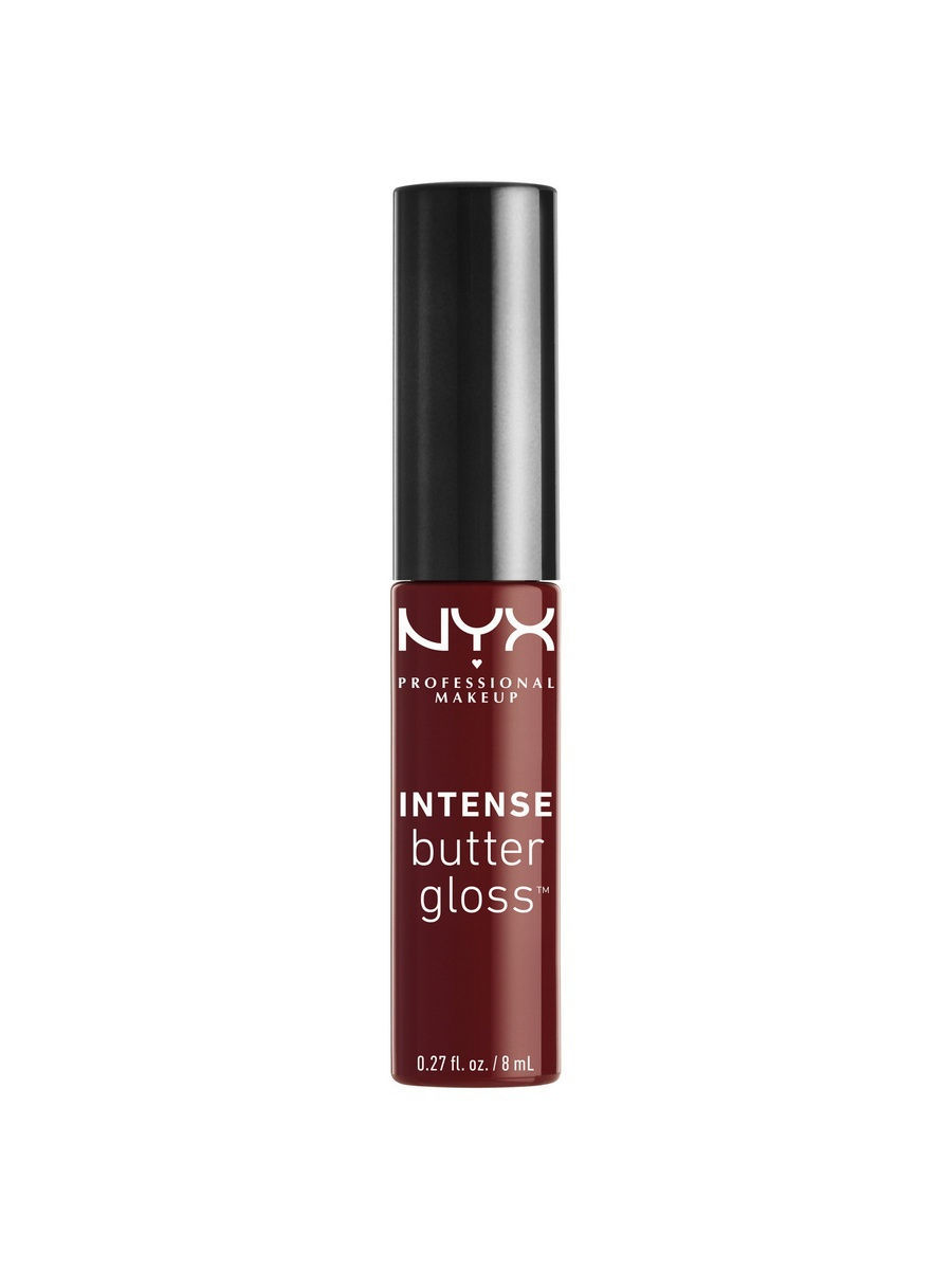 NYX PROFESSIONAL MAKEUP Увлажняющий блеск для губ. INTENSE BUTTER GLOSS - CHOCOLATE APPLE