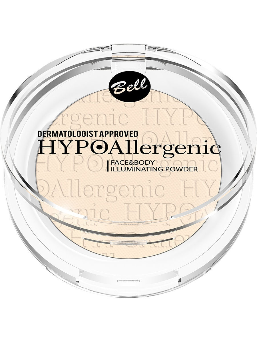 Bell Hypoallergenic Пудра Для Лица И Тела Гипоаллергенная Facebody Illuminating Powder Тон 01