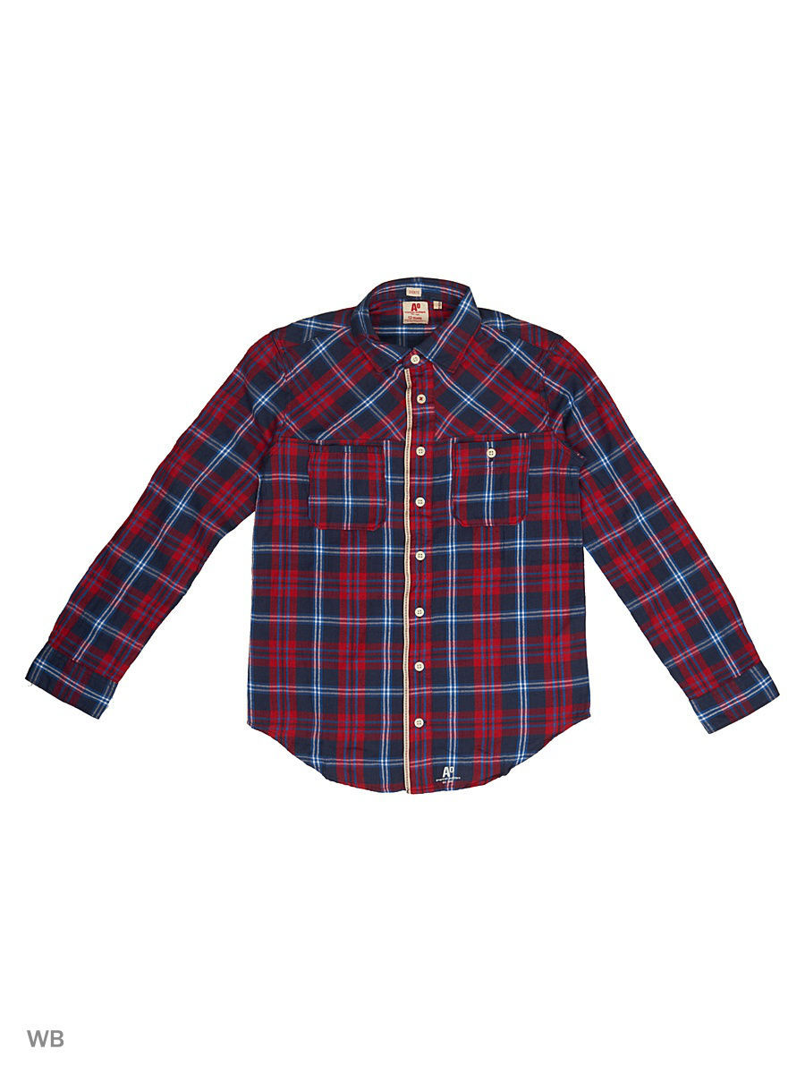 Рубашка American Outfitters 214-2452/000655/red