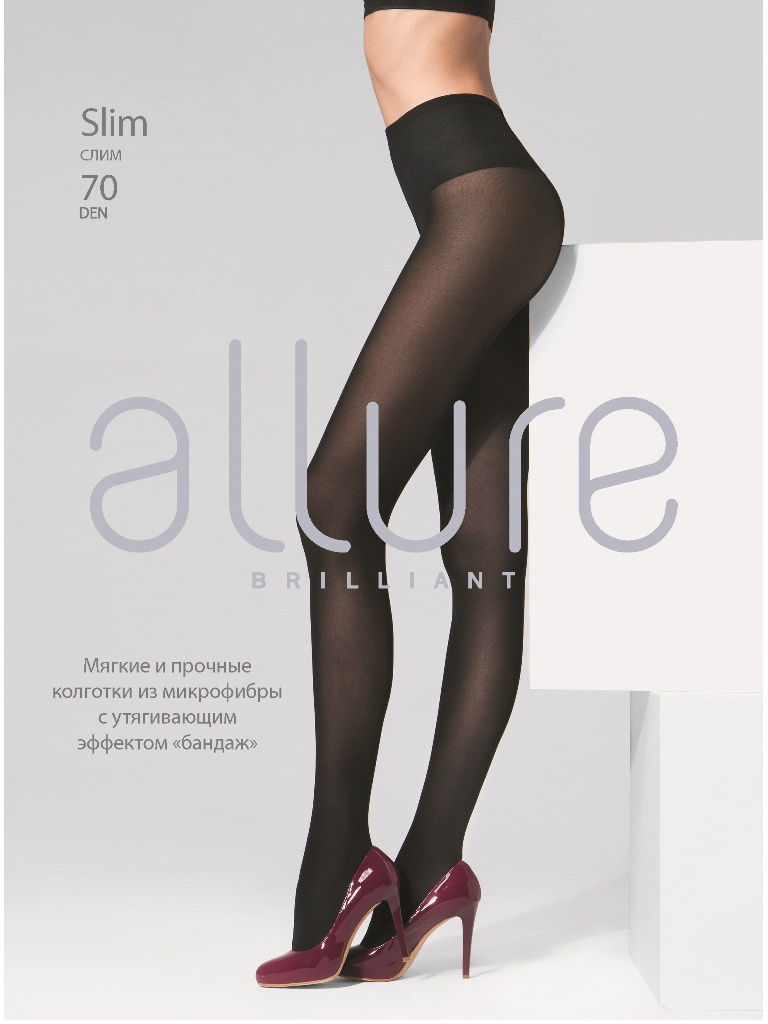 Колготки Allure SLIM_70/nero