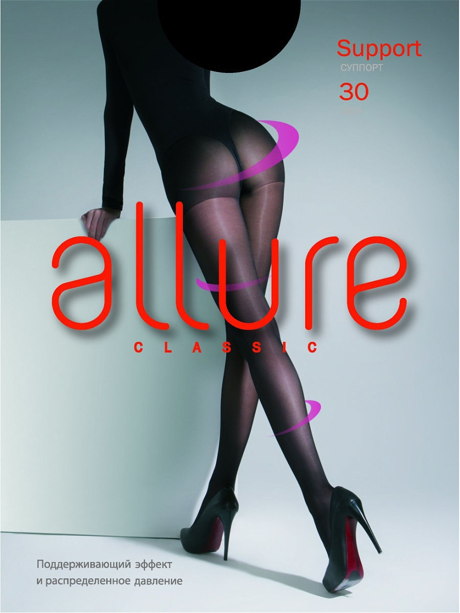 Колготки Allure SUPPORT_30/nero